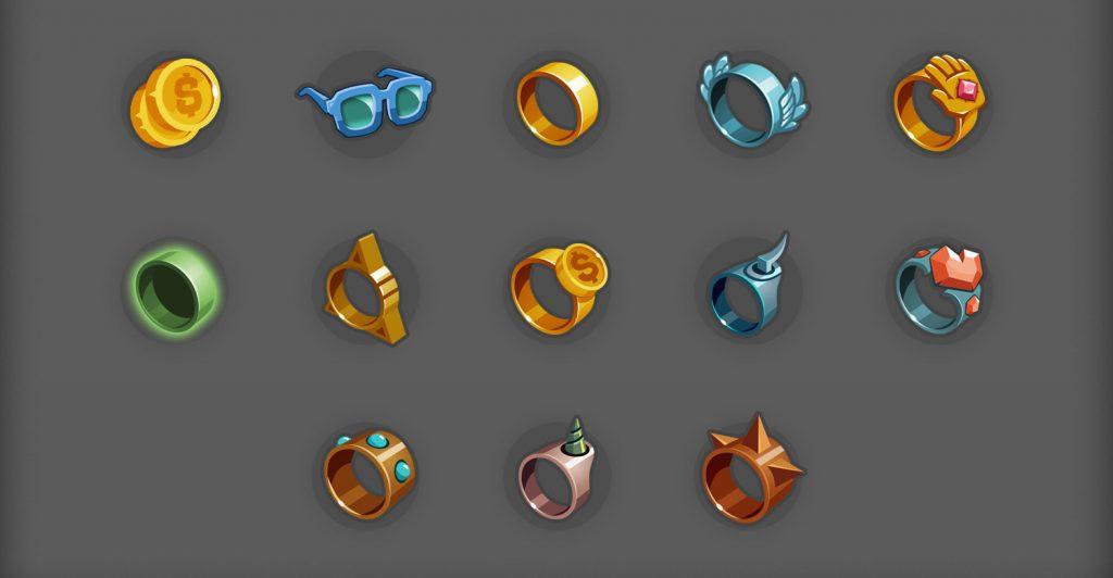 Unity游戏开发精品素材资源——2D图标素材篇(头像、装备与物品、技能)