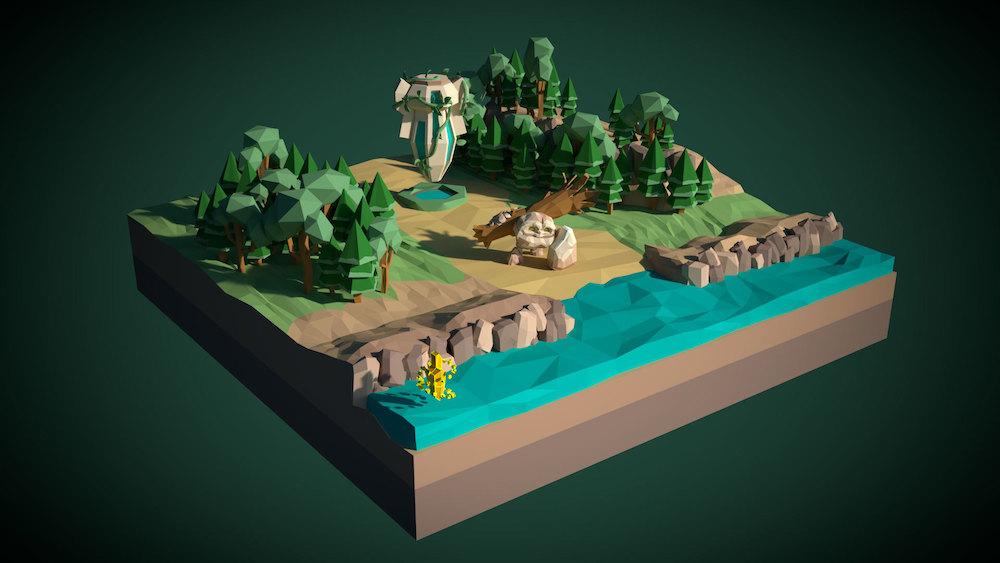 Unity Low Poly风格3D模型精选